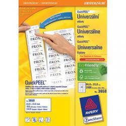 Etykiety uniwersalne Avery Zweckform 105 x 48