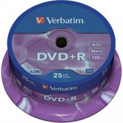 PŁYTA VERBATIM DVD+R cake 25 szt.