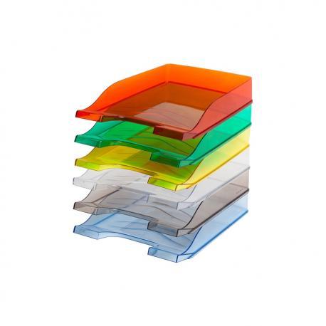 Półka Na Dokumenty Bantex Transparentna Zielona Topoffice Artykuły Biurowe Online