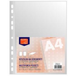 KOSZULKI MYOFFICE A4 40µm GROSZKOWE (100)