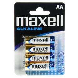 BATERIE MAXELL ALKALINE AA LR6 (4 szt.)