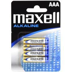 BATERIE MAXELL ALKALINE AAA LR3 (4 szt.)