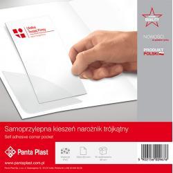 KIESZENIE SAMOPRZYLEPNE PANTA PLAST NAROŻNE120x120