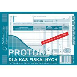 PROTOKÓŁ DLA KAS FISKAL. PRZYJĘCIA ZWROTU A5 (O+1K