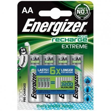 AKUMULATORKI ENERGIZER EXTREME AA 2300mAh (4)