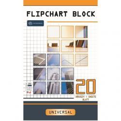 BLOK DO FLIPCHARTU 65 X 100CM KRATKA (20)