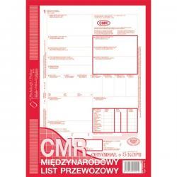 CMR MIĘDZYNARODOWY LIST PRZEWOZOWY (O+5K) MICHALCZYK I PROKOP A4