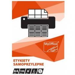 ETYKIETY A4 MyOFFICE 105 X 74 MM (100)