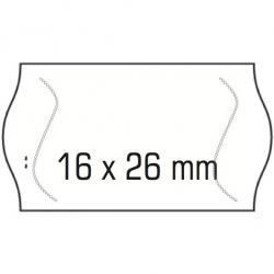 ETYKIETY DO METKOWNIC 2-RZĘDOWE 26 X 16 MM AVERY 1500 ETYKIET/ROLKA USUWALNE