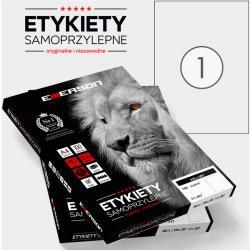 ETYKIETY 210 X 297.0 MM. 1 SZT/A4 EMERSON UNIWERSALNE