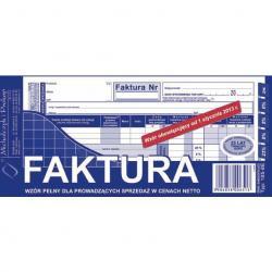 FAKTURA NETTO 1/3 A4 (PEŁNA) (O+1K) MICHALCZYK I PROKOP
