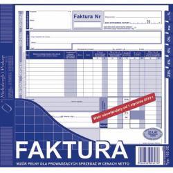 FAKTURA NETTO 2/3 A4 (PEŁNA) (O+1K) MICHALCZYK I PROKOP