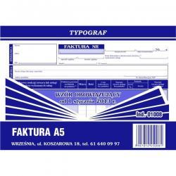 FAKTURA VAT A5 TYPOGRAF
