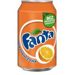 FANTA POMARAŃCZOWA 0.33 L PUSZKA