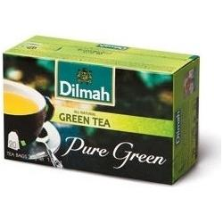 HERBATA DILMAH GREEN TEA 25 SZT