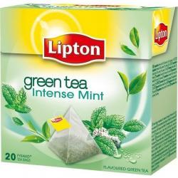 HERBATA LIPTON PIRAMID&039s GREEN z MIĘTĄ (20)