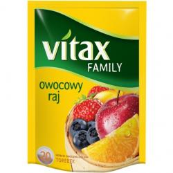 HERBATA VITAX FAMILY OWOCOWY RAJ 20 TOREBEK