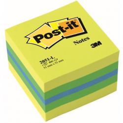 KARTECZKI POST-IT 51 * 51 MM CYTRYNOWE (400)
