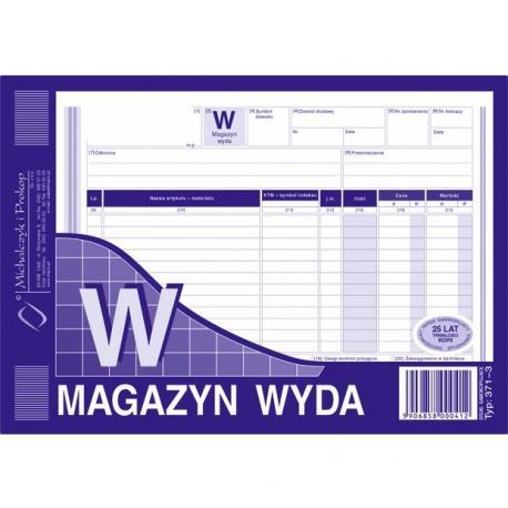 MAGAZYN WYDA (WIELOKOPIA) MICHALCZYK I PROKOP A5