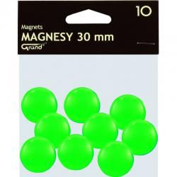 MAGNESY DO TABLIC 30 MM, ZIELONY