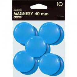 MAGNESY DO TABLIC 40 MM, NIEBIESKI