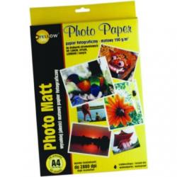 PAPIER FOTO YELLOW ONE A4 140 G/M2 MATOWY