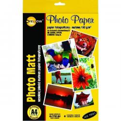PAPIER FOTO YELLOW ONE A4 190 G/M2 MATOWY