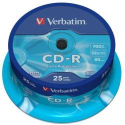 PŁYTA CD-R VERBATIM CAKE BOX 25 SZT.