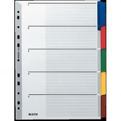 PRZEKŁADKI KARTONOWE LEITZ A4 5 kolorów
