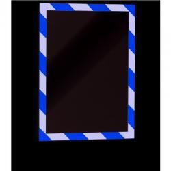 RAMKA DURABLE DURAFRAME SECURITY A4 ŻÓŁTO-CZARNA (2)