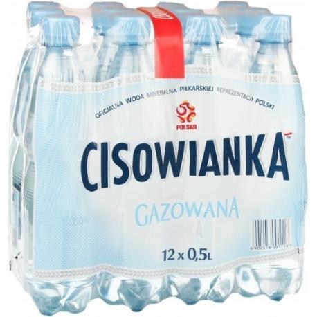 WODA CISOWIANKA GAZOWANA 0.5 L