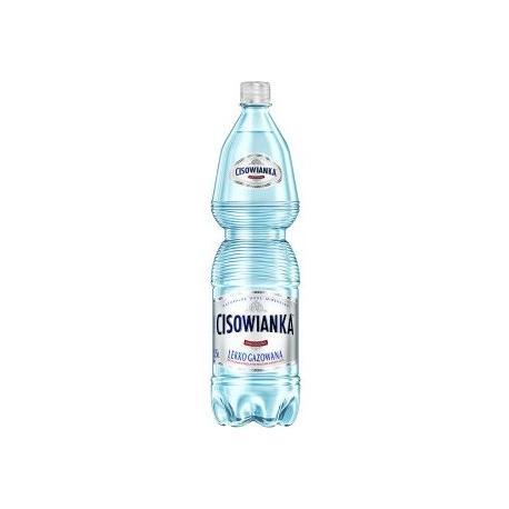 WODA CISOWIANKA LEKKO GAZOWANA 1.5 L