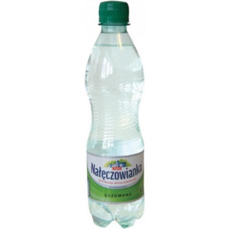 WODA GAZOWANA NAŁĘCZOWIANKA 0.5 L