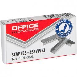 ZSZYWKI OFFICE PRODUCTS 24/6 1000 szt.