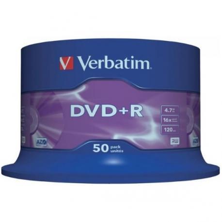 PŁYTY VERBATIM DVD+R CAKE (50)
