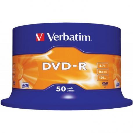 PŁYTY VERBATIM DVD-R CAKE (50)