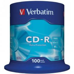 PŁYTY VERBATIM CD-R CAKE (100)
