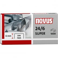 ZSZYWKI NOVUS 24/6 DIN SUPER 1000 SZT