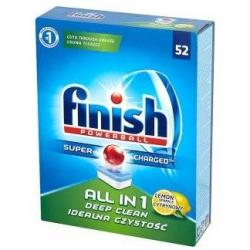 TABLETKI DO ZMYWARKI FINISH ALL in 1 LEMON (52)