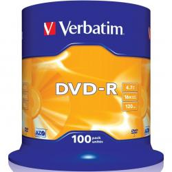 PŁYTY VERBATIM DVD-R CAKE (100)