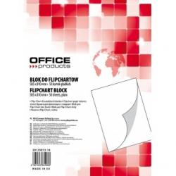BLOK DO FLIPCHARTU OFFICE PRODUCTS 58.5 X 81CM GŁADKI