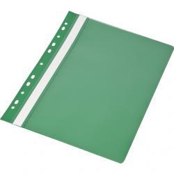 SKOROSZYT PVC A4 WPINANY (1 sztuka), ZIELONY