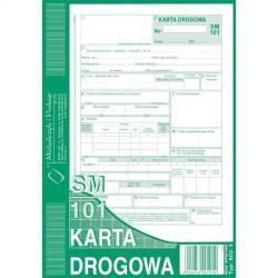 KARTA DROGOWA - OSOBOWY (NUMEROWANA). (OFFSET) MICHALCZYK I PROKOP A5