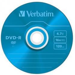 PŁYTA VERBATIM DVD-R JAWEL CASE