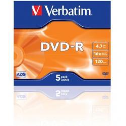 PŁYTA DVD-R VERBATIM SLIM 1 SZT.