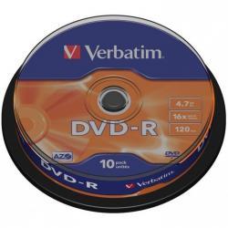 PŁYTY VERBATIM DVD-R CAKE (10)