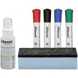 ZESTAW DO TABLIC REXEL WHITEBOARD CLEANING KIT
