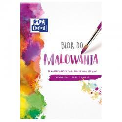 BLOK DO MALOWANIA OXFORD A4/20K BIAŁY