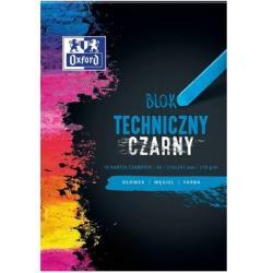 BLOK TECHNICZNY OXFORD A4/10K CZARNY