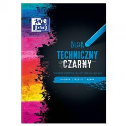 BLOK TECHNICZNY OXFORD A3/10K CZARNY